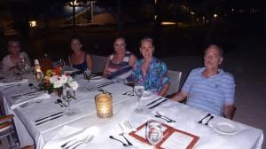 Bali_Jantar na praia Hotel Nusa Dua