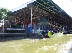 Caminho para Amphawa_Mercado Flutuante_Bangkok