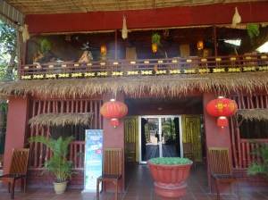 Camboja_Almoço_Restaurante Khmer Wooden House