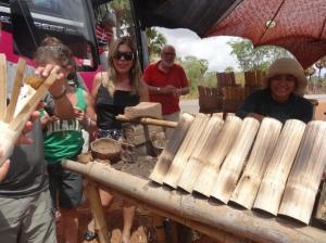 Camboja_Siem Reap_Arroz assado