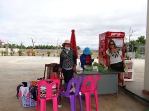 Na estrada Camboja - Tailândia