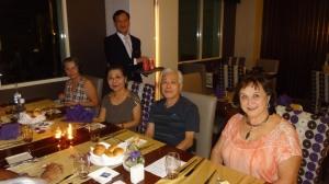 Hanói_Hotel Movenpick_Jantar