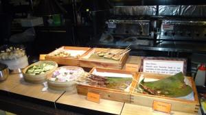 Singapura_Almoço Restaurante Buffet Town