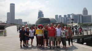 Singapura_Merlion Park
