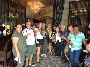 Bangkok_Recepção Grand Millenium Hotel