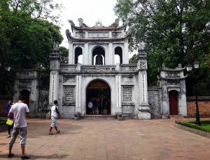 Templo da Literatura_entrada principal