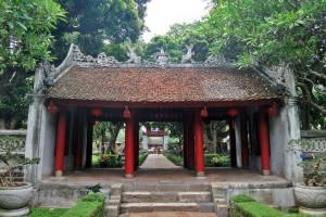Templo da Literatura_exemplo arquitetura vietnamita