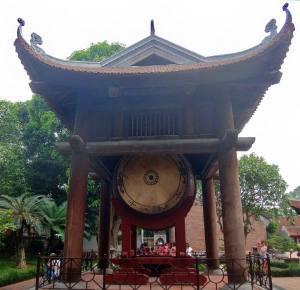 Templo da Literatura_Tambor à direita Yang